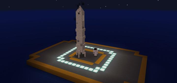 Mine-Rocket Addon – MCPE 1.0.x