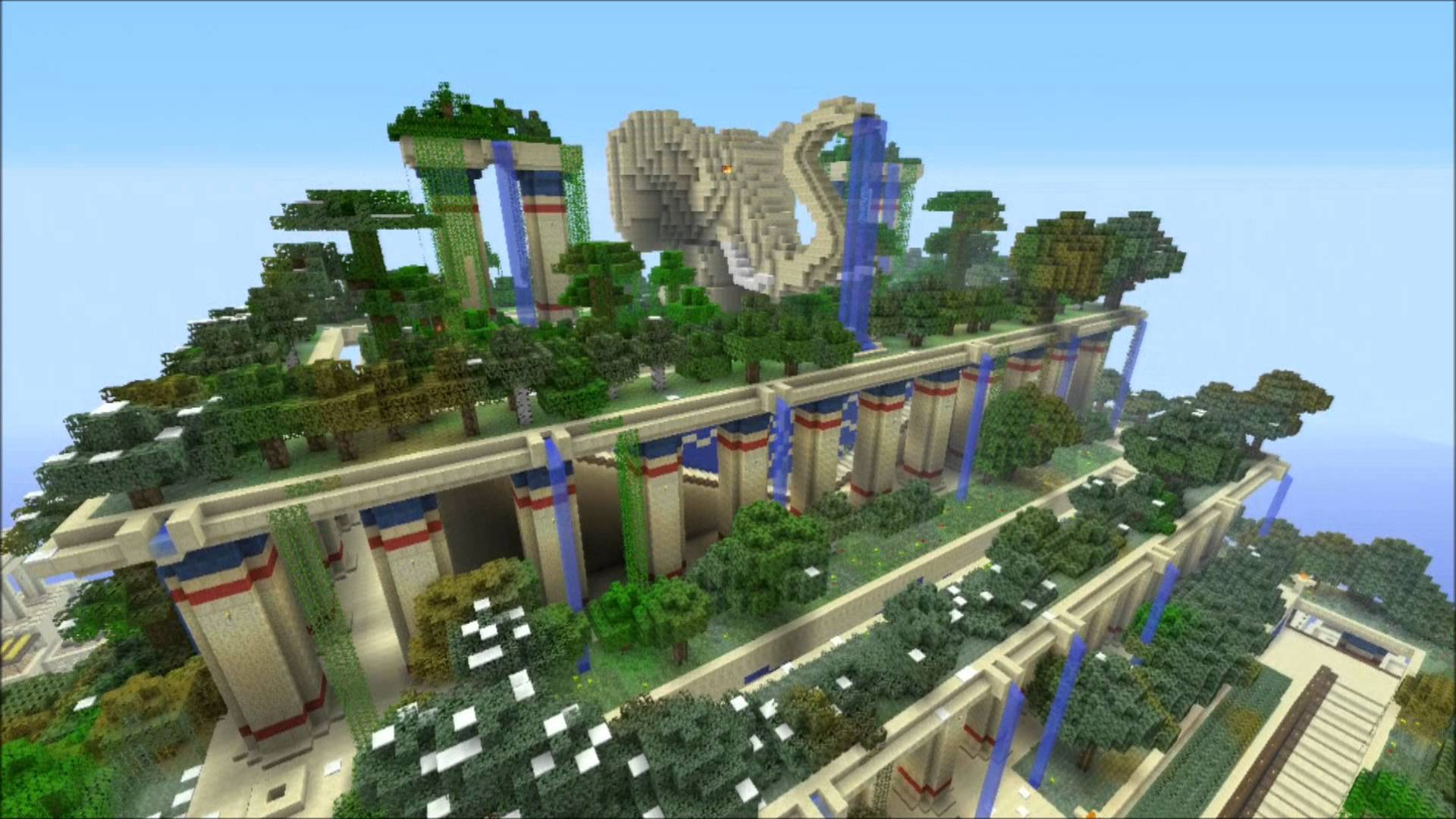 Babylon PC Converted Map Minecraft PS3 PS4 Map Download