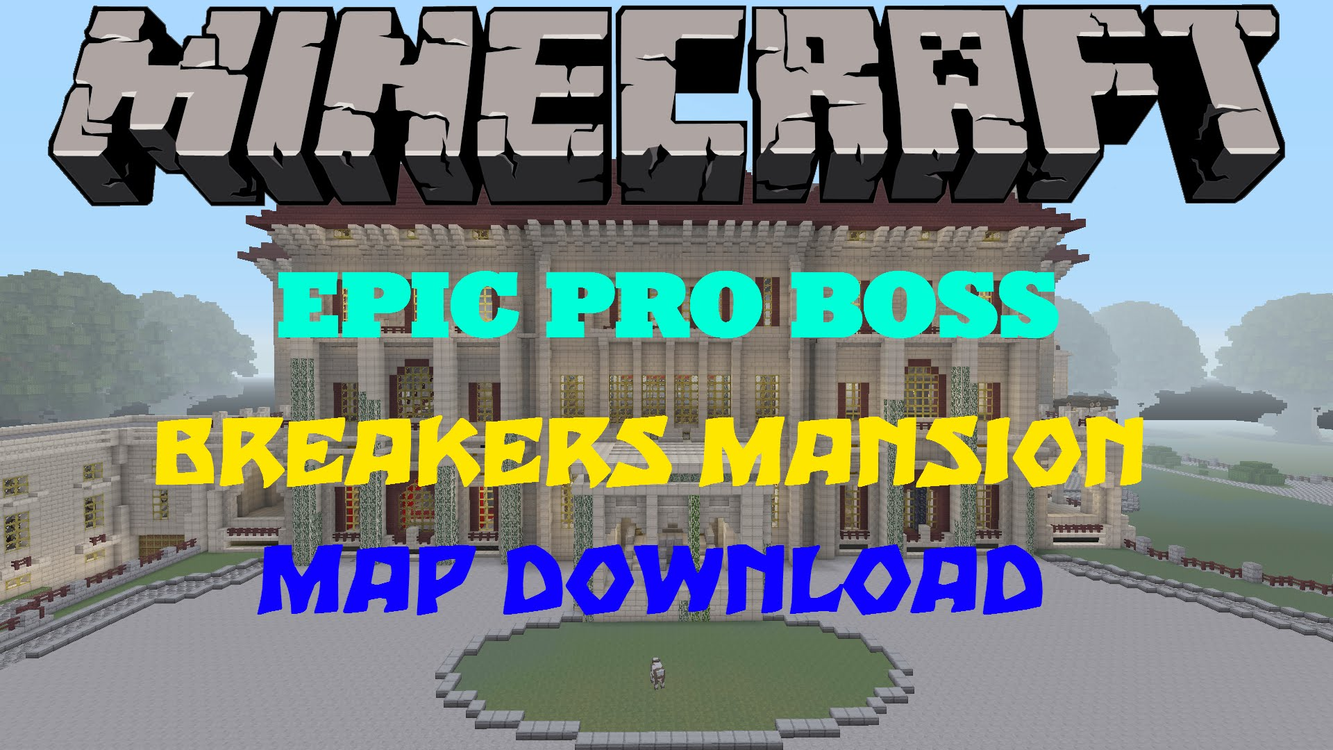 Minecraft PS3PS4 Breakers Mansion Map WDownload