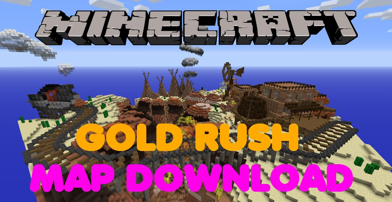 Minecraft PS3PS4 Gold Rush Map Showcase WDownload