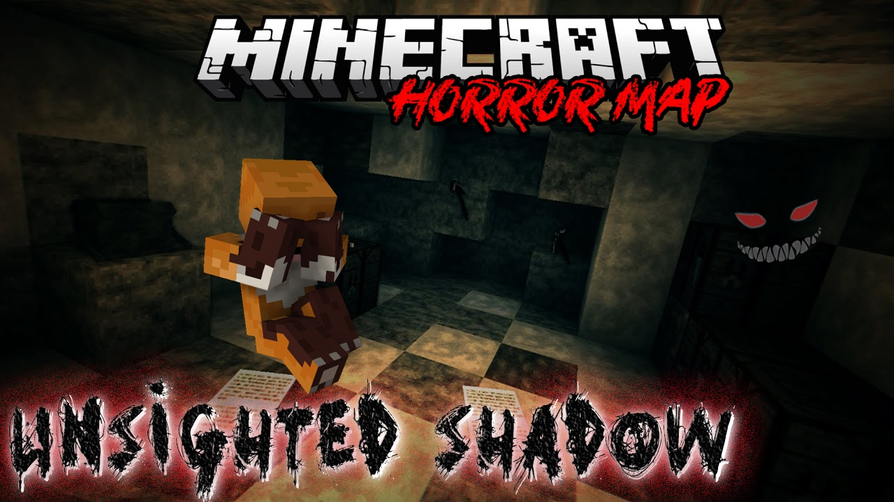 Minecraft PS3 Unsighted Shadow Horror Map Download