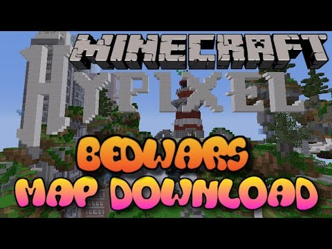 Minecraft PS3PS4 MODDED BED WARS MAP WDOWNLOAD