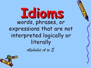 English-idioms-A-to-E