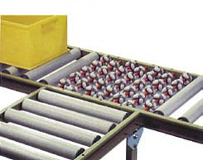 Roller Gravity Pallet Wrapper Conveyor Pallet