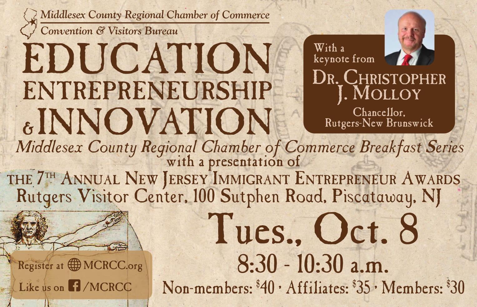 Education Entrepreneurship And Innovation Mcrcc