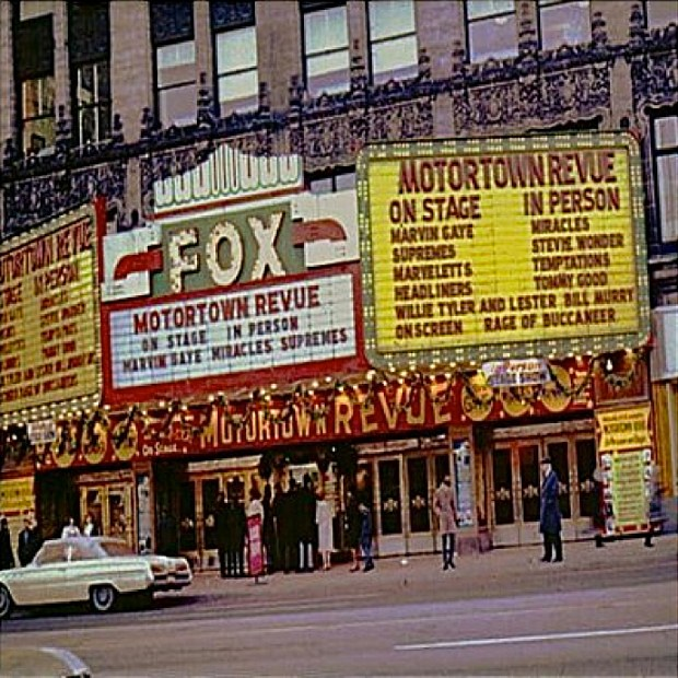 Motor Town Revue Show At The Detroit Fox 1966
