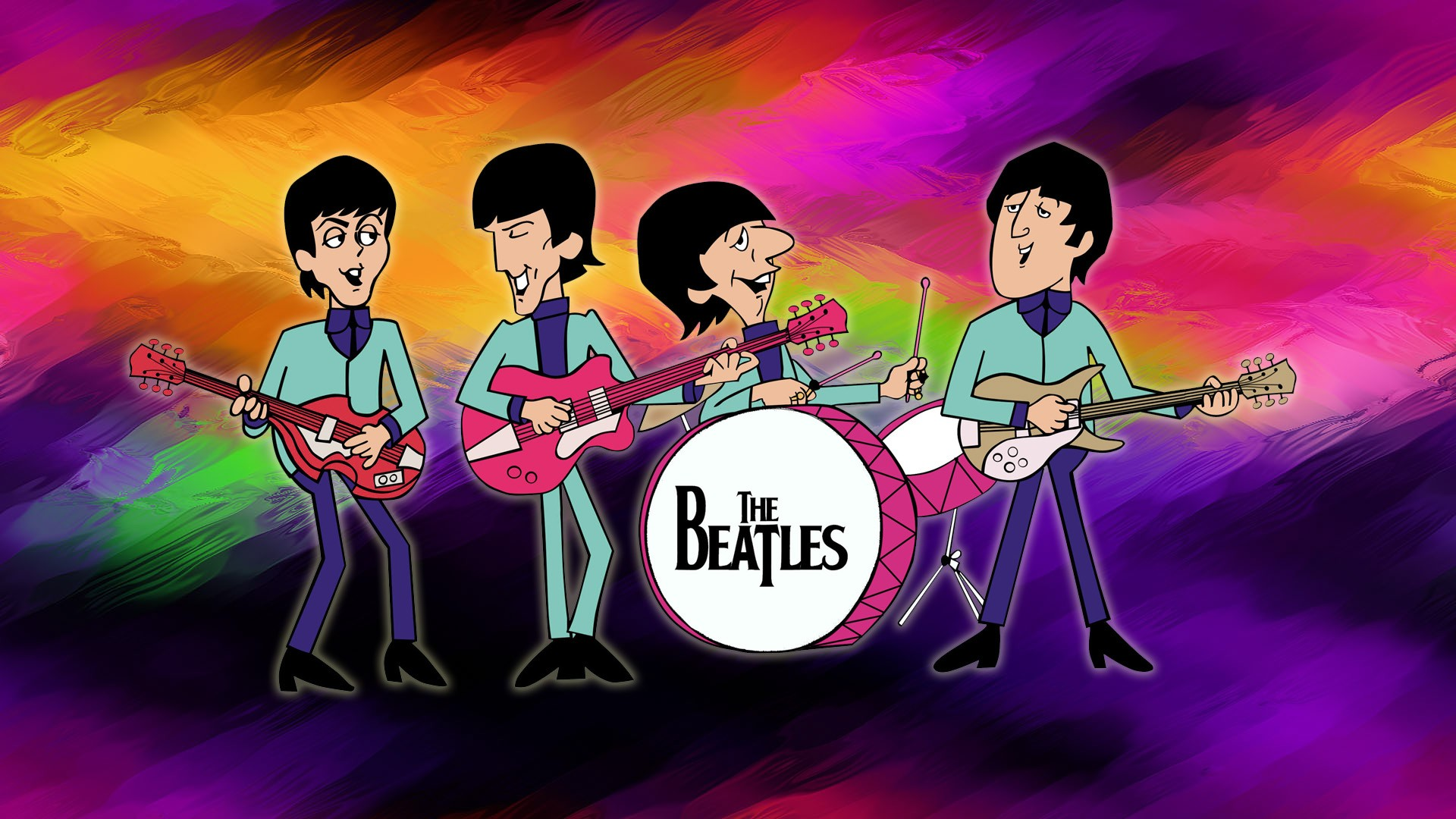 Beatles Computer Background