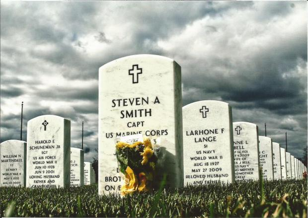 Steve Allen Smith Great Lakes Memorial Cemetary, Holly, MI