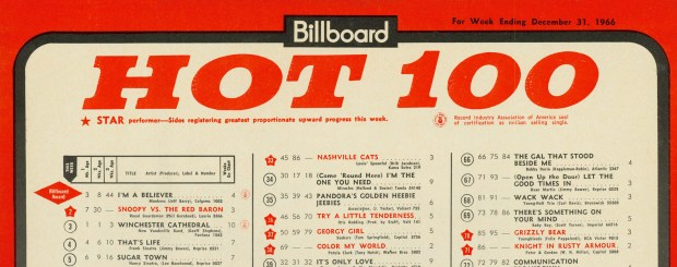 billboard-hot-100-top-5-december-31-1966