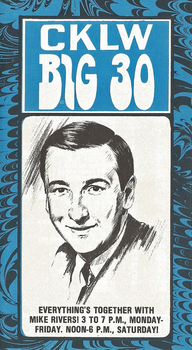 CKLW BIG 30 HITS PREVIEWED December 26, 1967 (click on all images 2x for largest PC view)