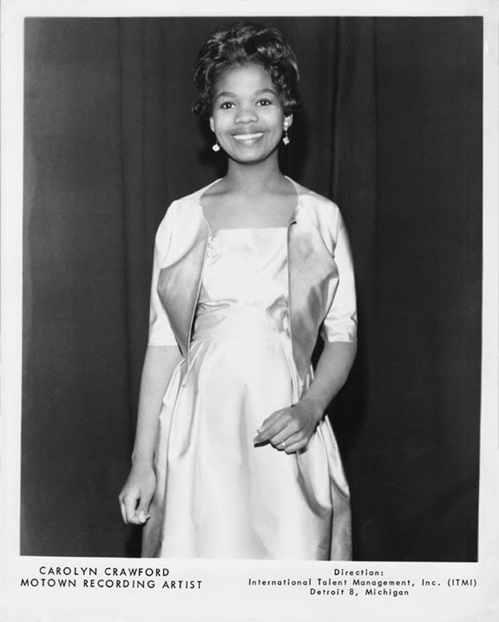 Image result for carolyn crawford motown