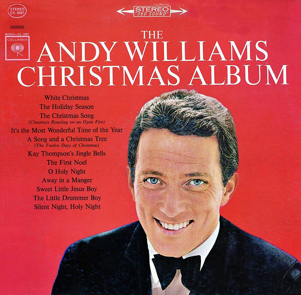 andy williams the andy williams christmas album complete lp 1963 - Best Selling Christmas Albums