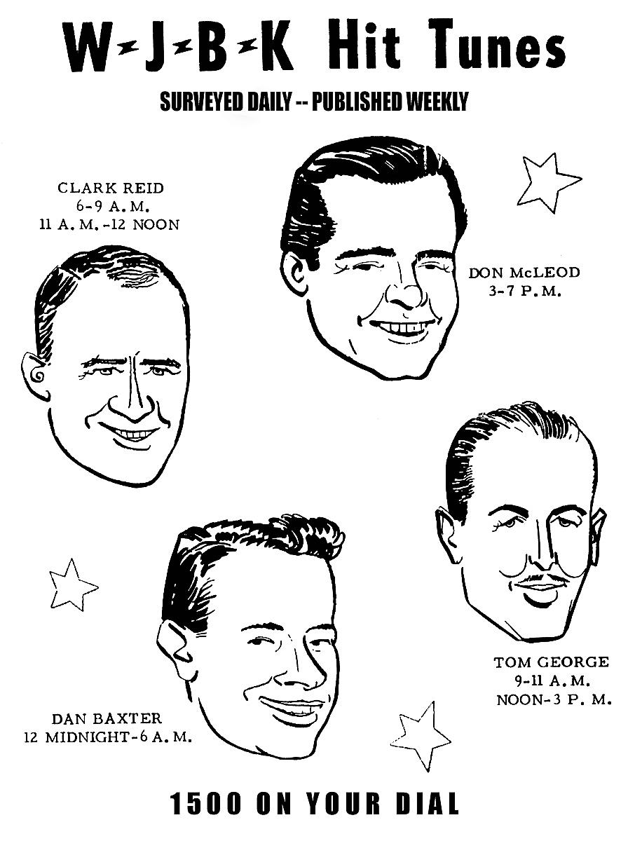 WJBK 1500 FORMULA '40 SURVEY SOUNDS: 12/02/1957