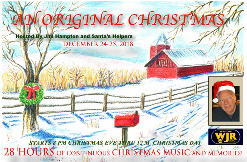 Continuous Christmas Music.28 Hours An Original Christmas On Radio Wjr