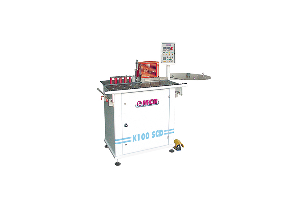 Mcritaly » Manual edge banding machines and trimming unit