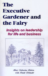 """The cover for the novel """"The Executive Gardener and the Fairy"""""""