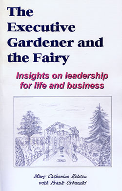 "The cover for the novel ""The Executive Gardener and the Fairy"""
