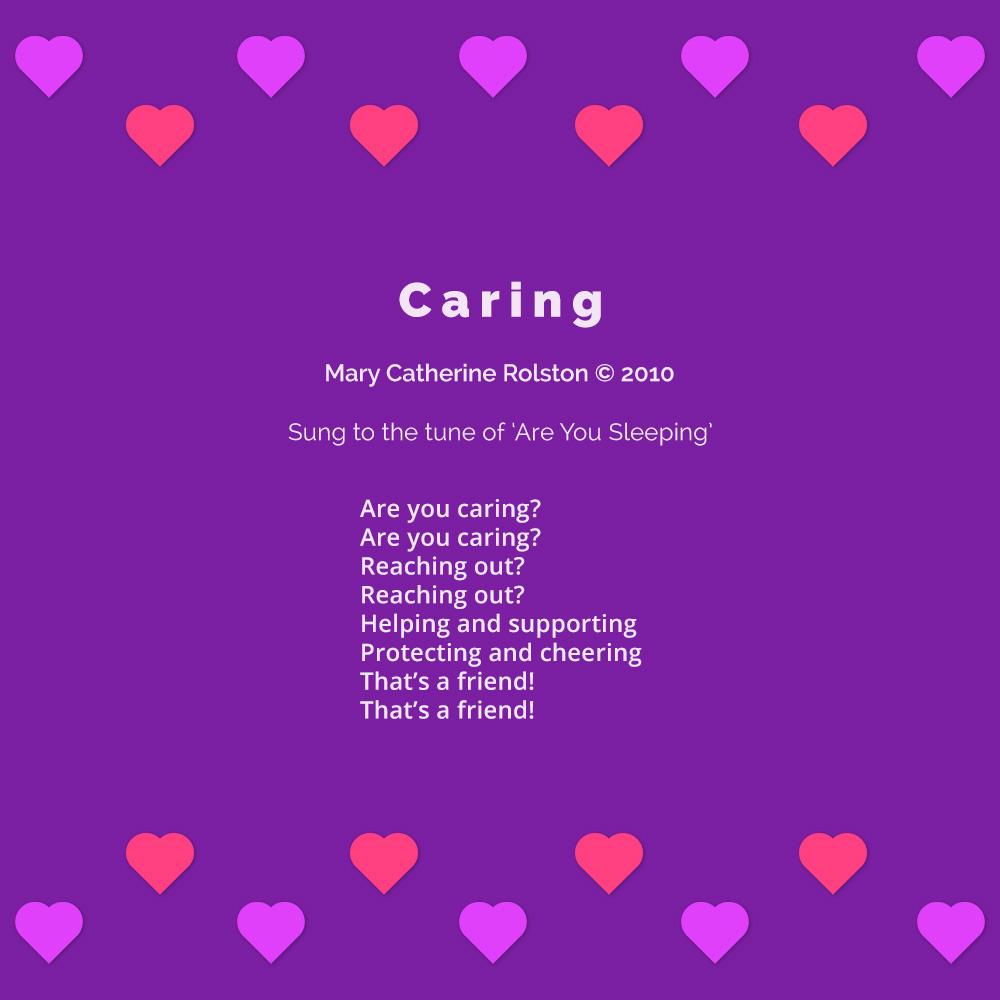 Caring Poem