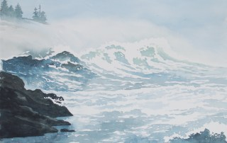 West Coast Storm by Keith Cains