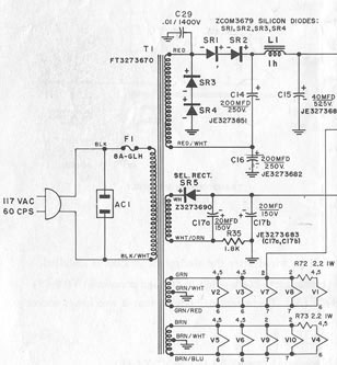 Click here for the Citation II complete schematic (900K