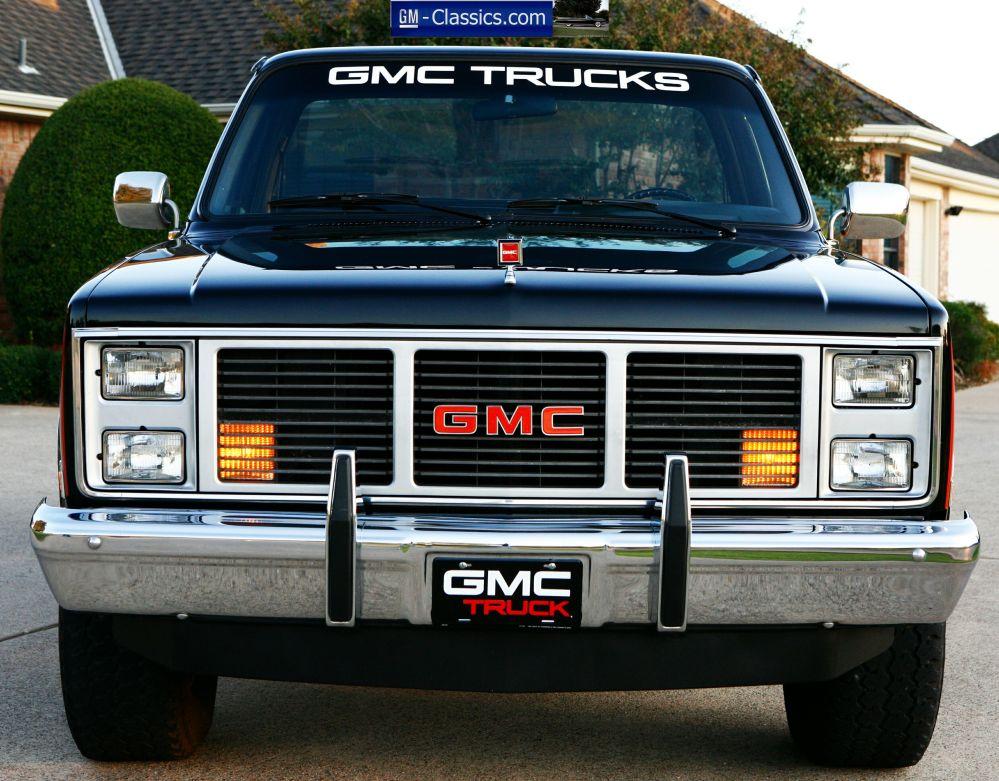medium resolution of 1987 gmc sierra