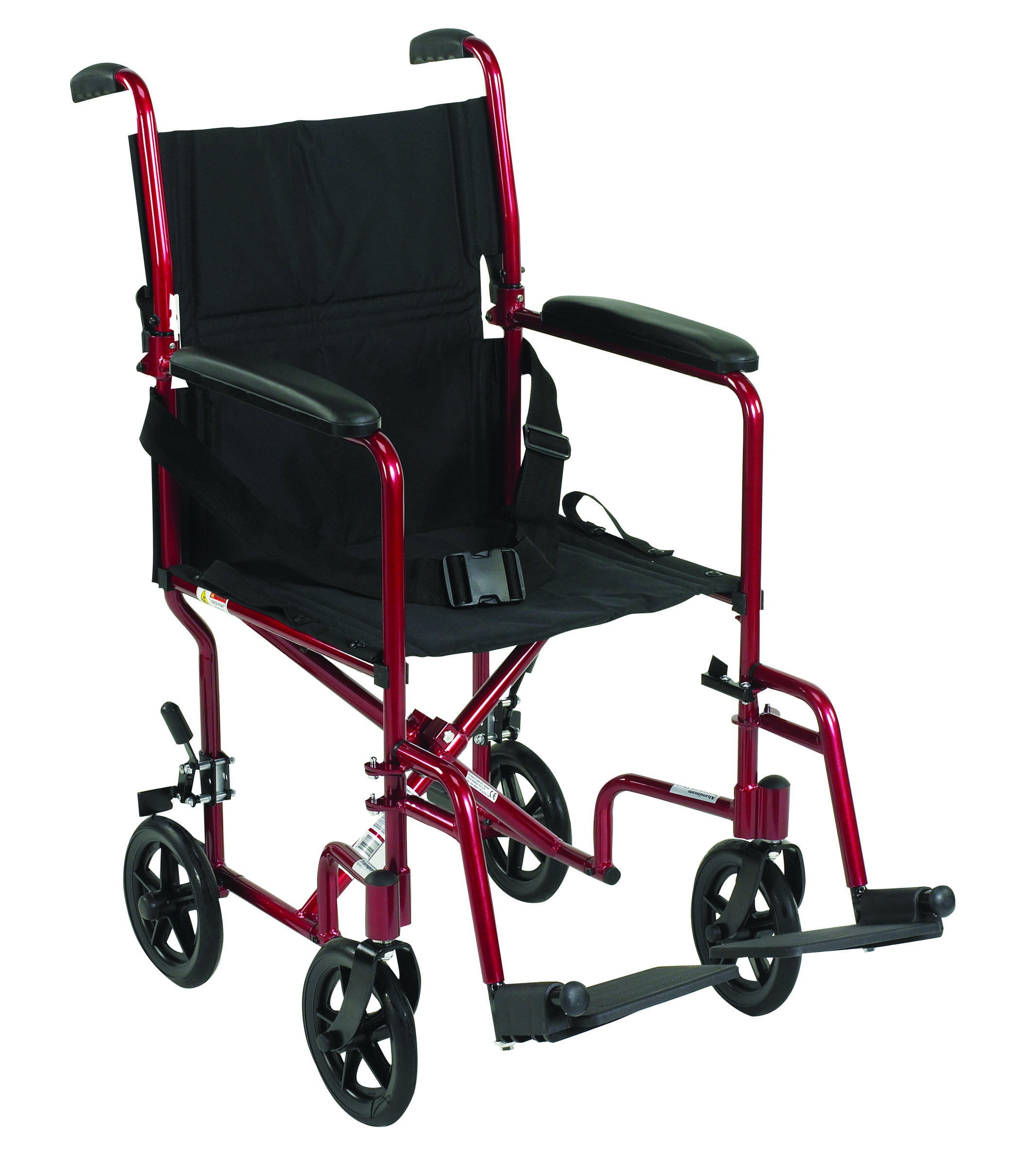 transport wheelchair used swing chair exercise deluxe lightweight ideal medical supply