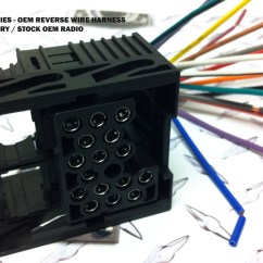 2002 Bmw 325i Radio Wiring Diagram 2007 Ford F150 Headlight Oem Reverse Factory Wire Harness Plug 8590-r - Abc-install.com