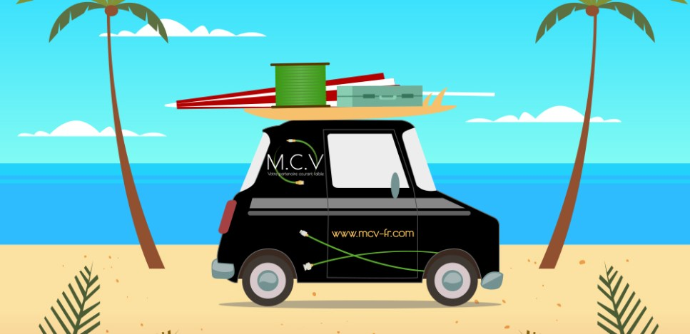 vacances service distribution réseaux M.C.V Gémenos