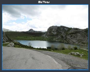 lago Enol desde carretera