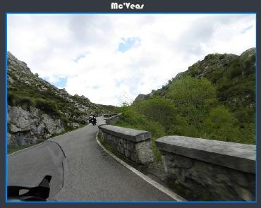Subiendo a los lagos de Covadonga