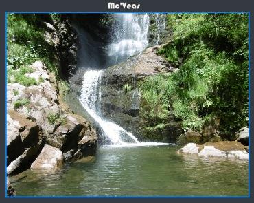 Cascada de Lumajo parte de abajo