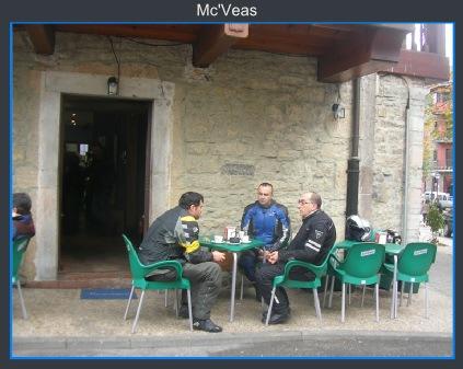 tomando café en Teverga