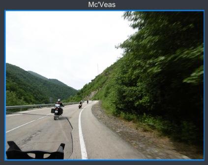 Circulando motos camino de Villablino