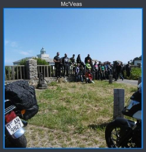 Foto grupo en Cabo Busto