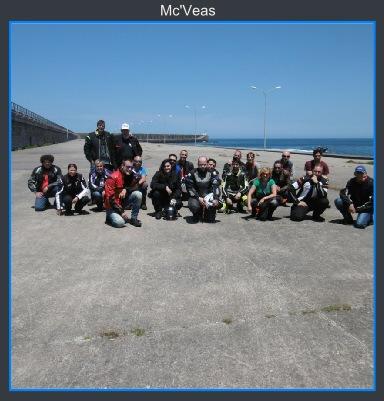 Grupo en Barra de San Esteban