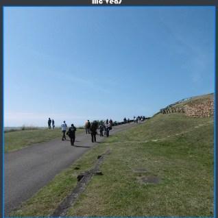 caminando hasta el Faro