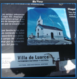 Cartel villa de Luarca
