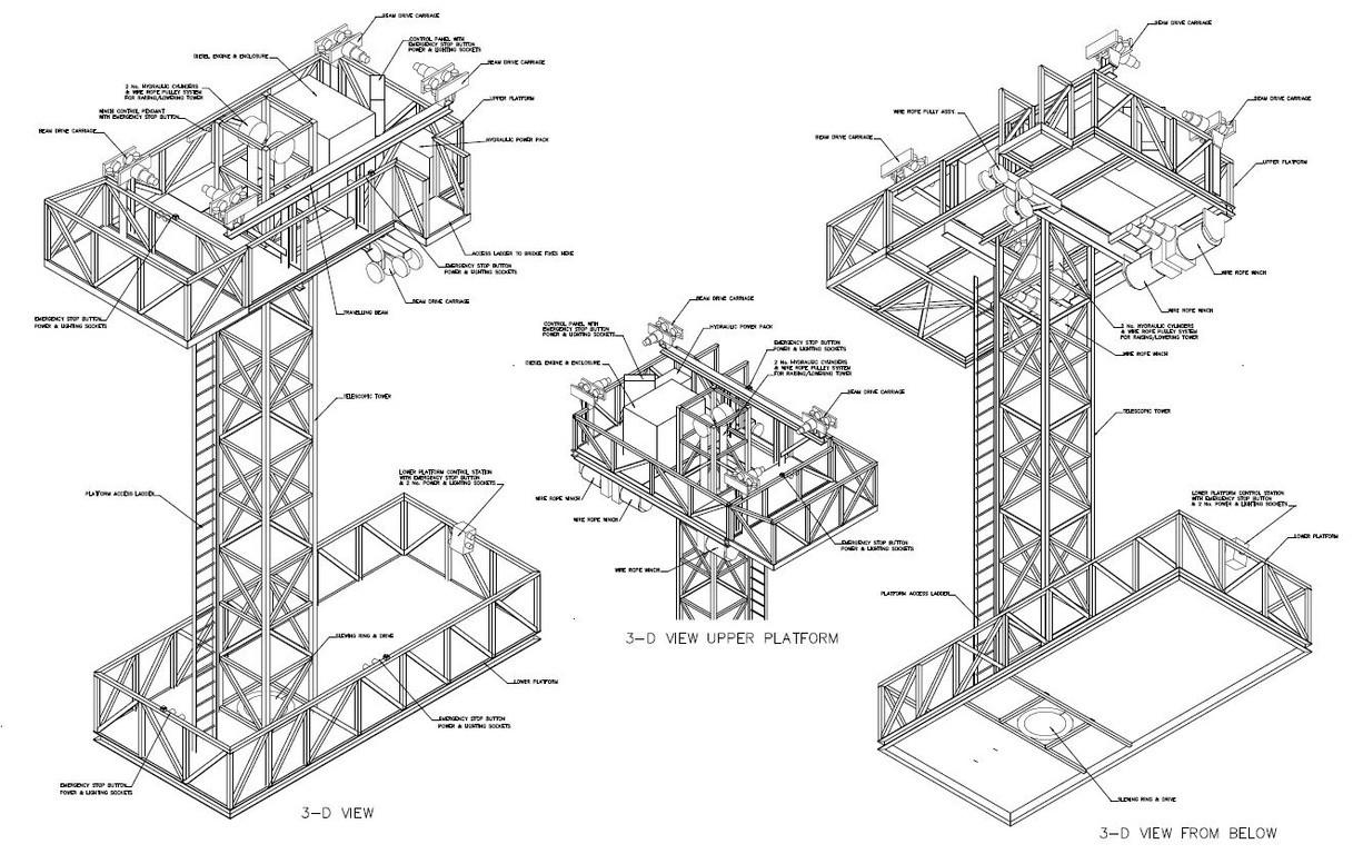 Mechanical Amp Materials Handling Drawings