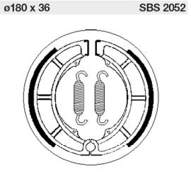 SBS Bromsbackar bak 23-2052