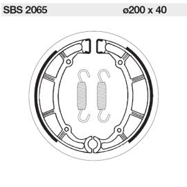 SBS Bromsbackar bak