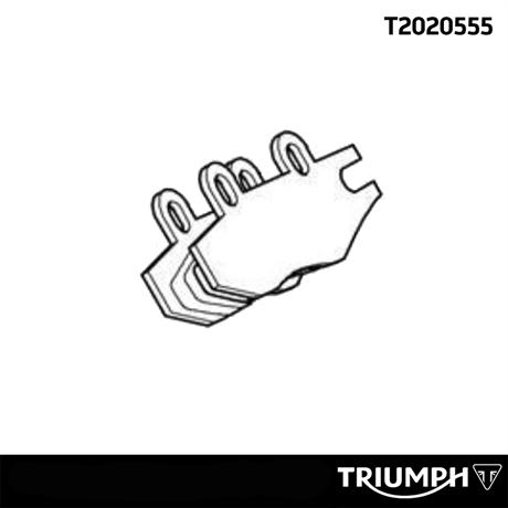 Triumph original bromsbelägg bak