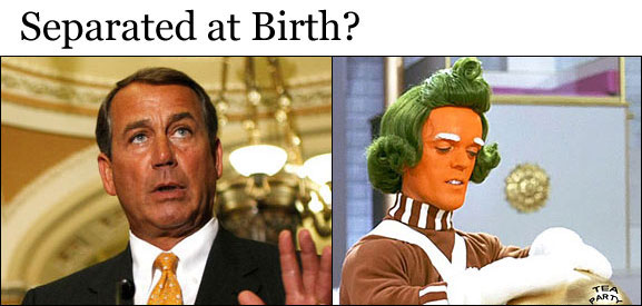John Boehner, freak