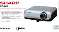 SHARP XR-10X DLP-Projektor/Beamer, TrueVision bis FullHD,