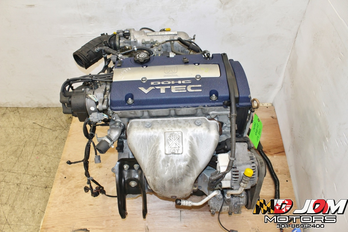 hight resolution of 97 01 jdm honda accord prelude f20b engine 2 0l dohc vtec motor longblock a t version md jdm motors