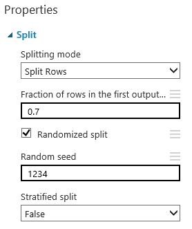 Split Azure ML