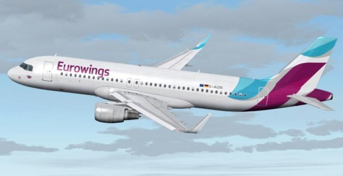 Eurowings render plane