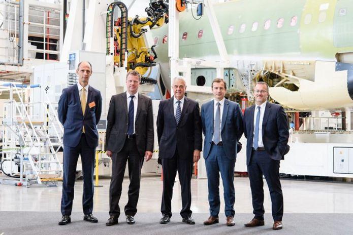 4th production line at Airbus Hamburg