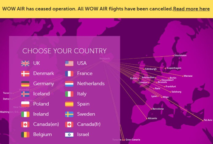 Wow air stop