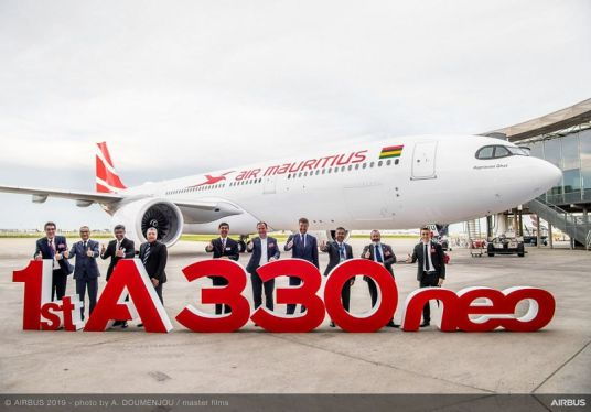 first A330neo Air Mauritius MSN1884 delivery ceremony 043