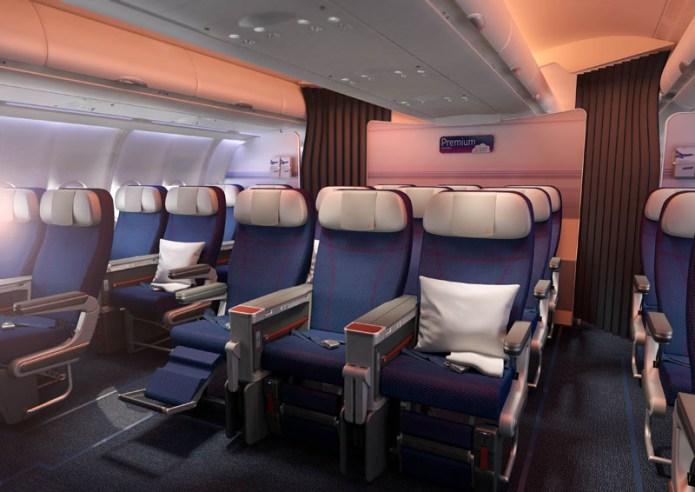 Brussels Airlines Economy Premium Cabin